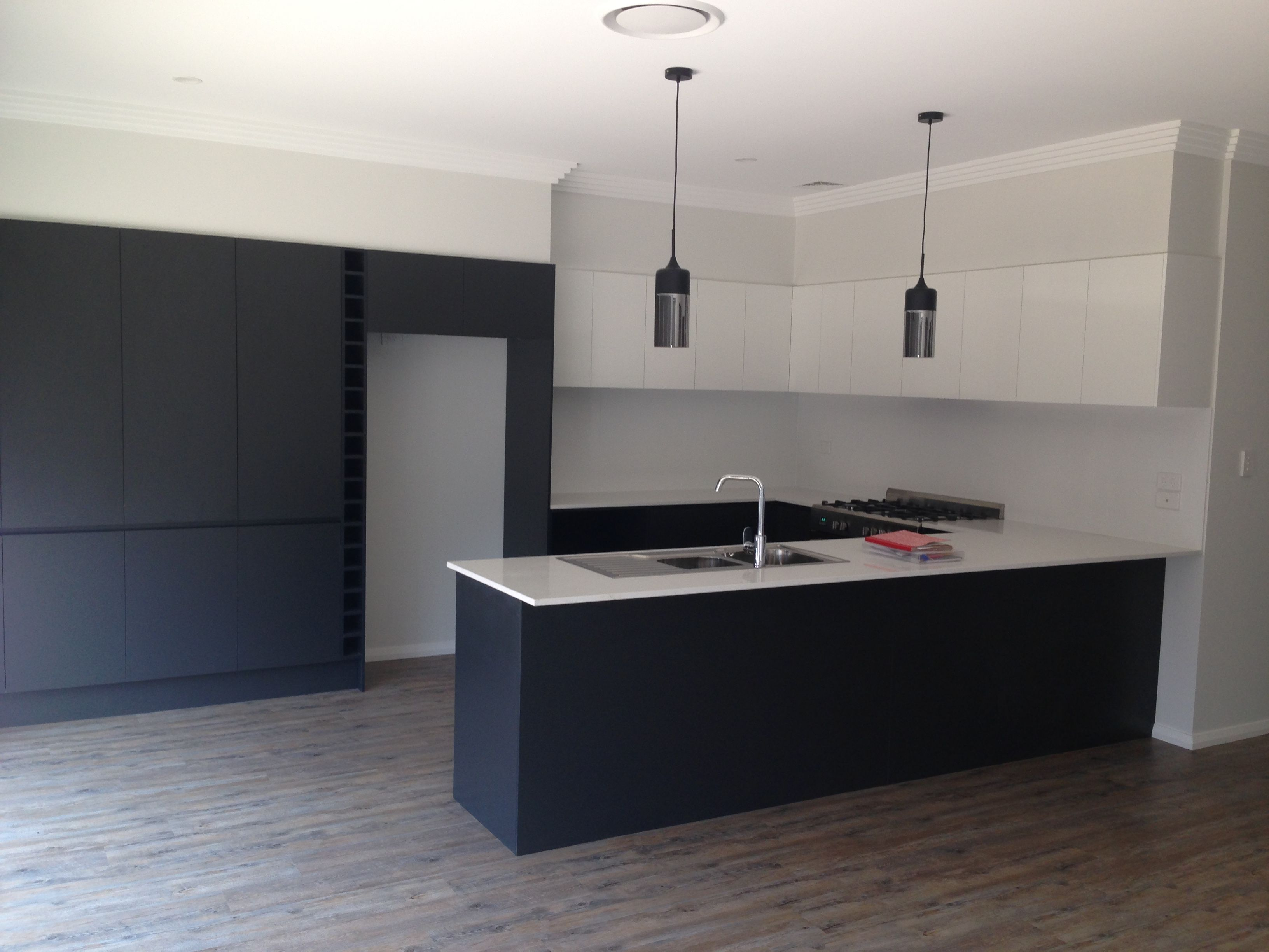 Formica Keuken Kitchen By Inz Kitchens Using Formica 39snowdrift 39 Gloss