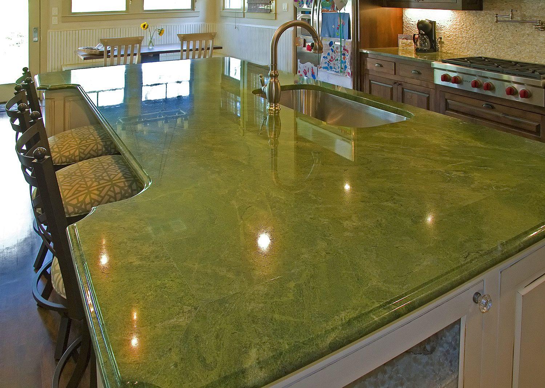 counter top materials green kitchen countertops Green Countertops Kitchen Green Countertops Kitchen