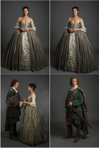 Costumes for Claire and Jamie for The Wedding | Outlander ...