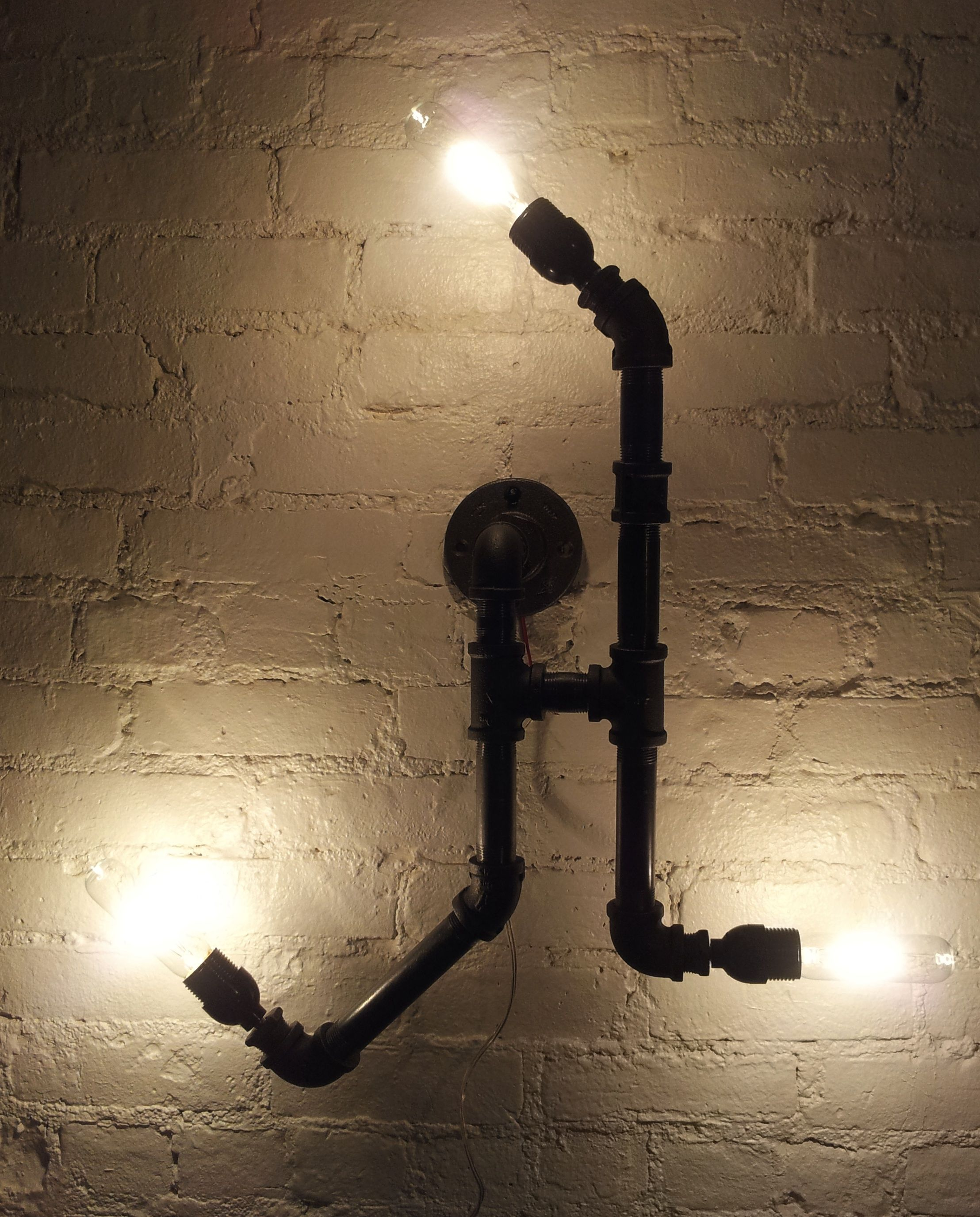 Pipe Light Fixtures Model No 14 Gas Pipes Light Fixtures Lighting