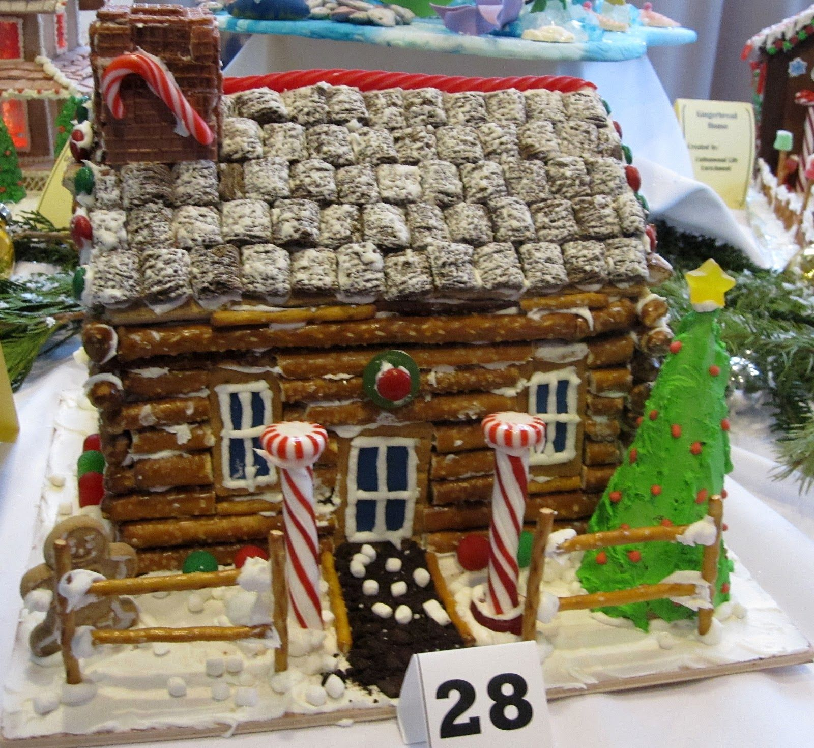 Fantastic A Pecan Roof Ideas A Pecan Roof Ideas Our Ginger Bread Year Gingerbread House Our Ginger Bread Gingerbread House Ideas Martha Stewart Gingerbread House Ideas Candy Gingerbread House ideas Gingerbread House Ideas