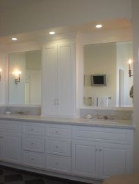 for master bathroom - extra tall medicine cabinet built on ...