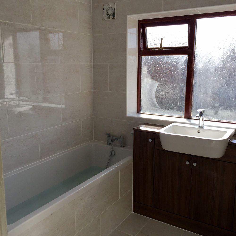 Gems noce walnut fitted furniture with quantum bath tecaz