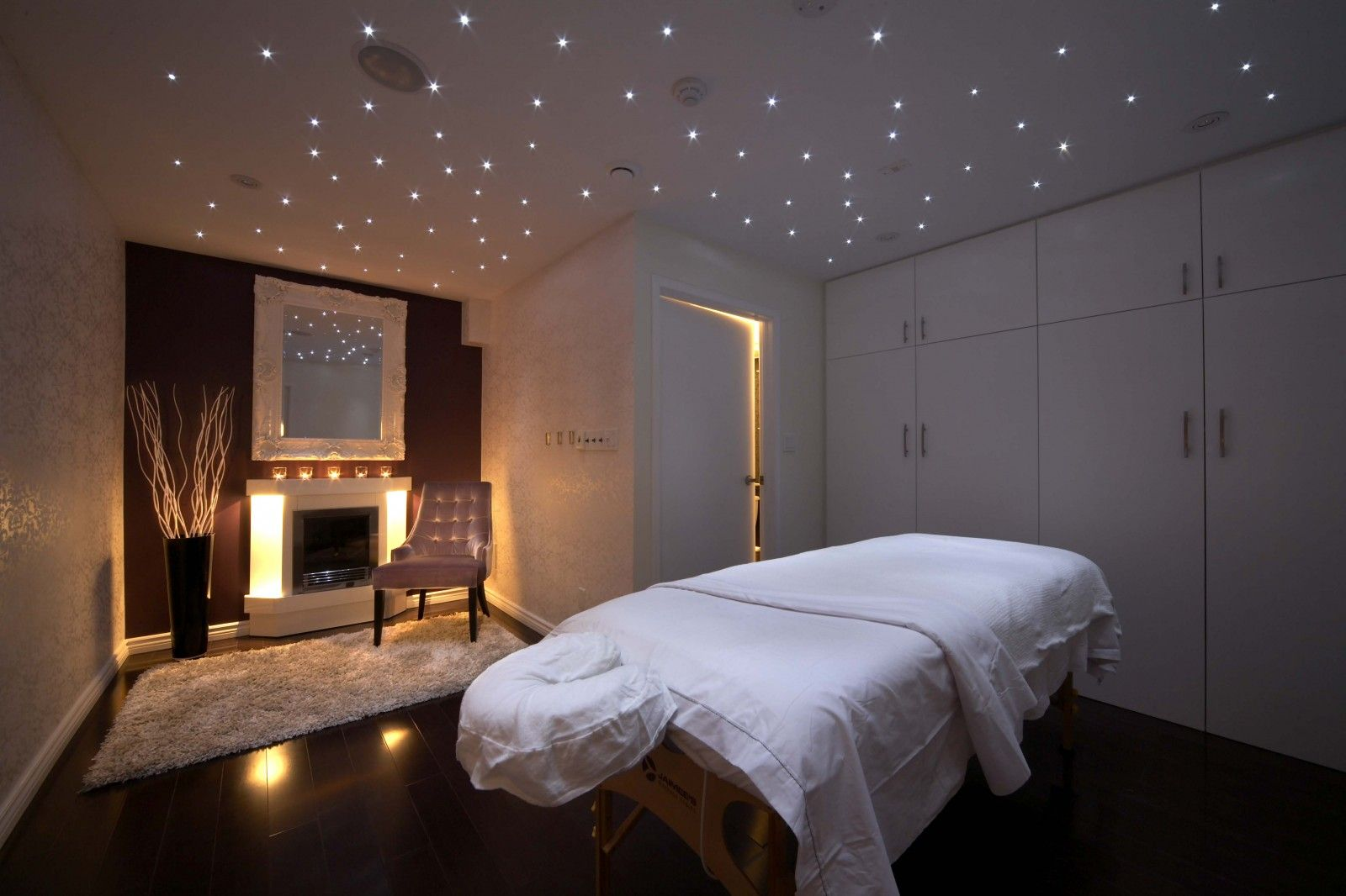 Salon Massage Barcelone Pearl Spa Massage Room Interior Design Toronto