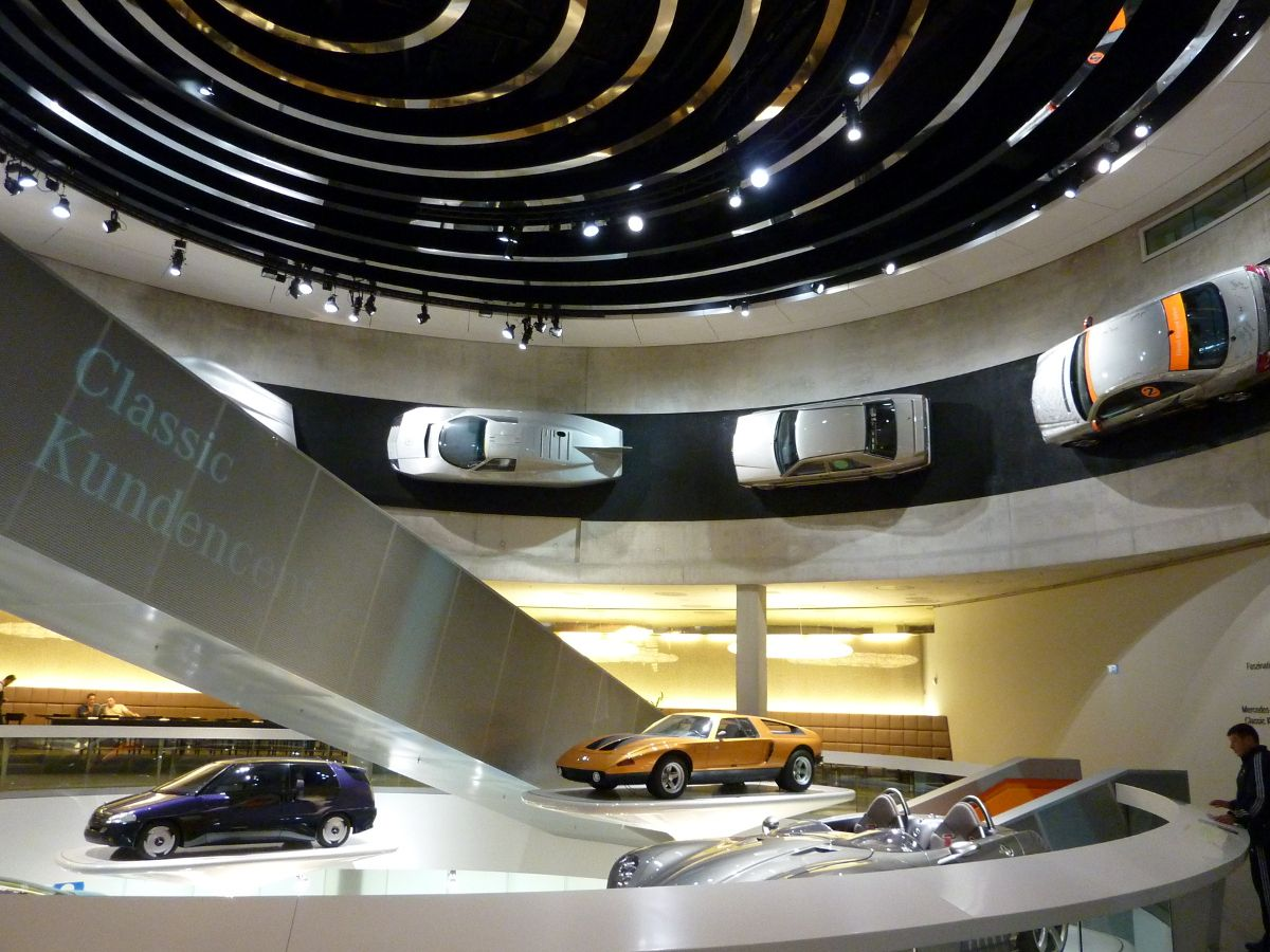 Design Studio Stuttgart Mercedes Benz Museum In Stuttgart Germany Architecture