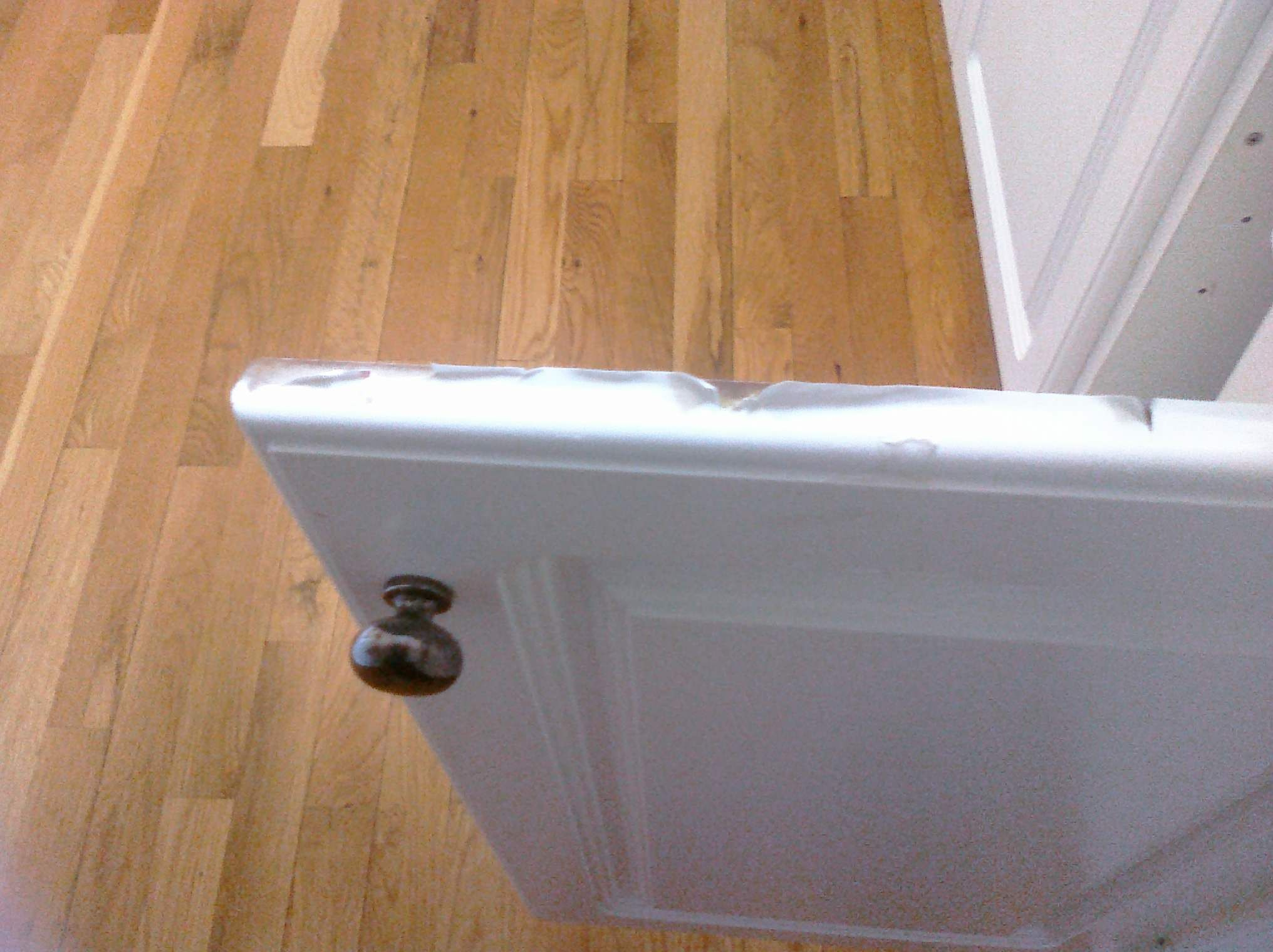 Kitchen Cabinet Doors Replacement White How To Repair And Paint Thermofoil Cabinets Kitchen