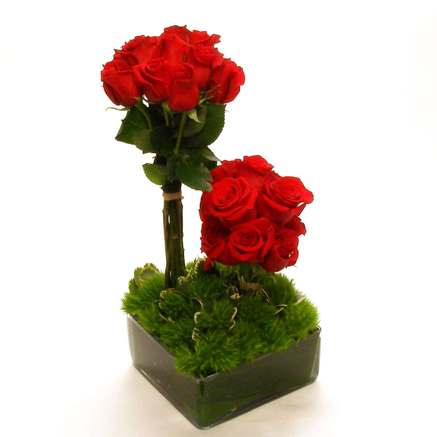 Modern Red Flower Arrangements