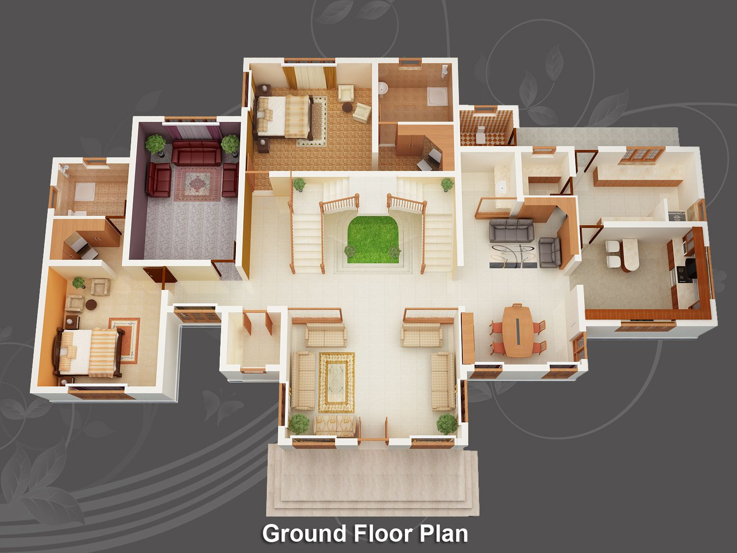 Free House Plan Design Image For Free Home Design Plans 3d Wallpaper Desktop