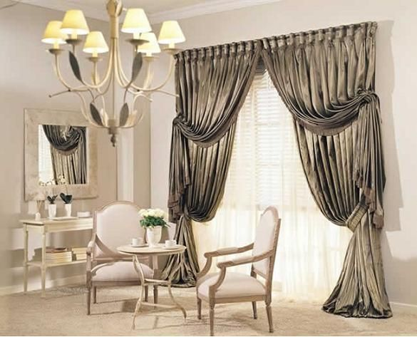 Choose Some Cheerful Curtain Designs For Modern Living Rooms - luxury curtains for living room
