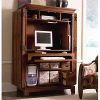 Office Furniture. Interesting Computer Armoire Desk ...