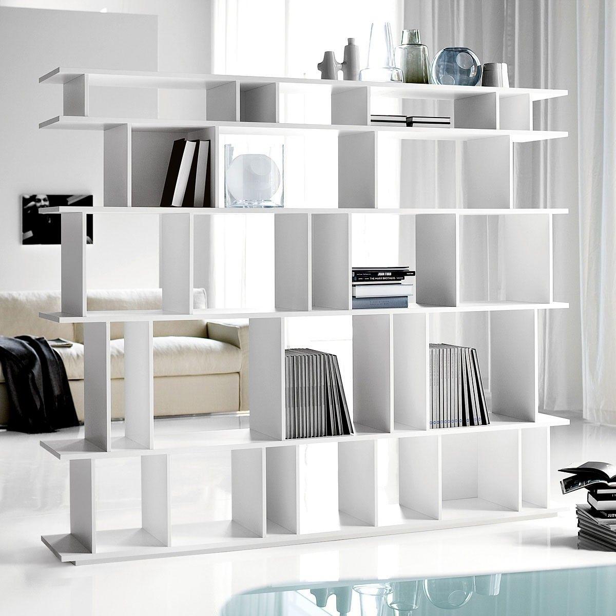 Contemporary bookshelf room divider ideas for bookshelf room divider creative home decoration