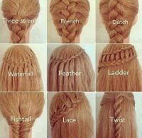 Different ways to do your hair for school | Outfits ...