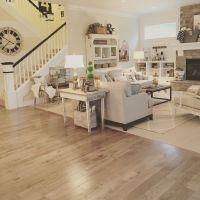 Modern farmhouse living. Open concept, neutral color ...