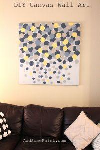 Simple+Canvas+Painting+Ideas | ... ideas | easy canvas art ...