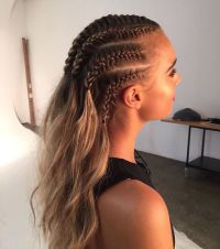 Pinterest: Nuggwifee  | Natural Hair Style Braids ...