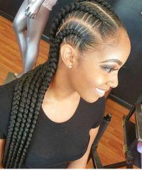 @gvldxband   Natural Hair Style Braids   Pinterest   Hair ...