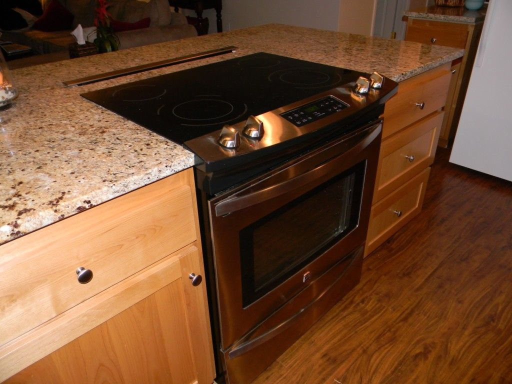 Oven In Island Unit Kitchen Island With Stove Oven House Ideas Pinterest