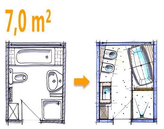 Kleine Bäder, Minibäder, Kleine Badezimmer unter 4m² Home - badezimmer 5 quadratmeter