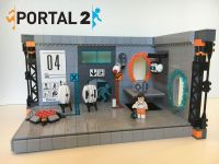 Custom Lego Portal 2 Testing Chamber MOC w/ Dimensions ...