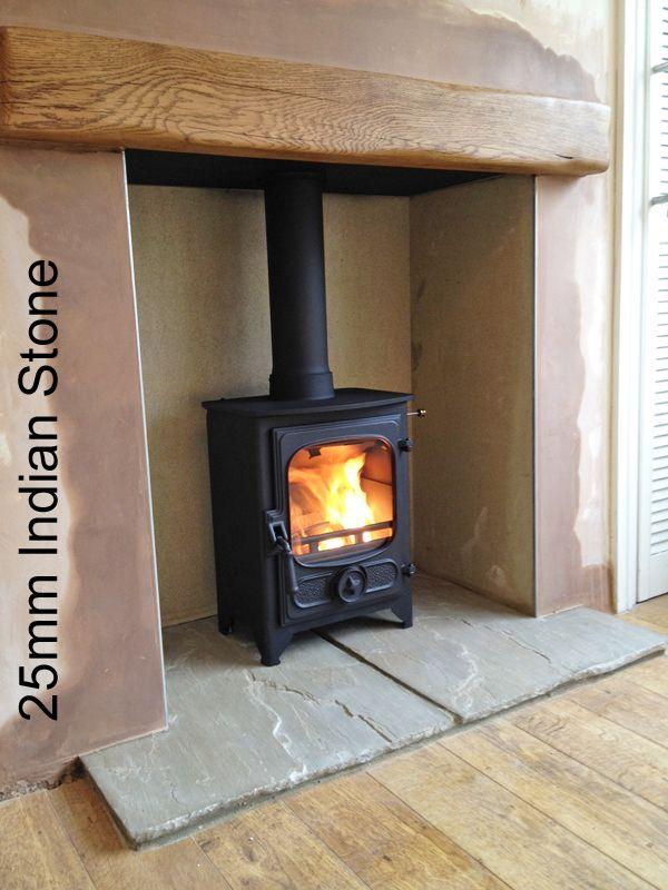 slate fireplace hearth