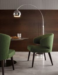 Aston by Minotti | Dining Little armchair | Sofa | Bench ...