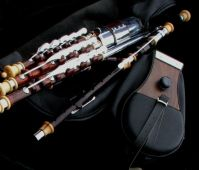 Full set of Irish Uilleann Pipes with 3 Regulators