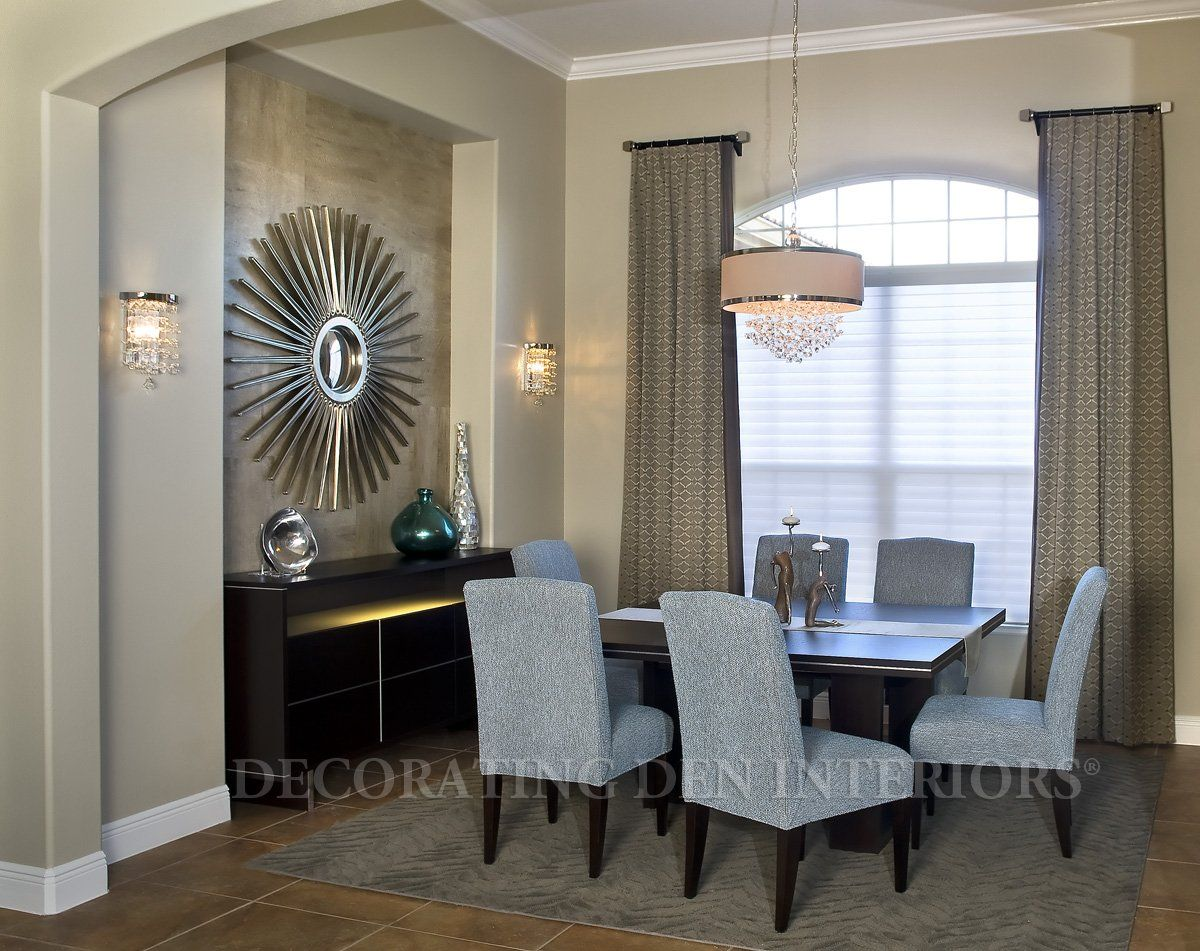 How to decorate a recessed interior design with textured wall niche in your dining room how to decorate a recessed interior design with text