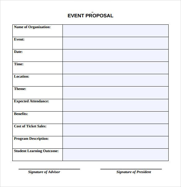 Sample Event Proposal Template - 15+ Free Documents in PDF, Word - sample event checklist template