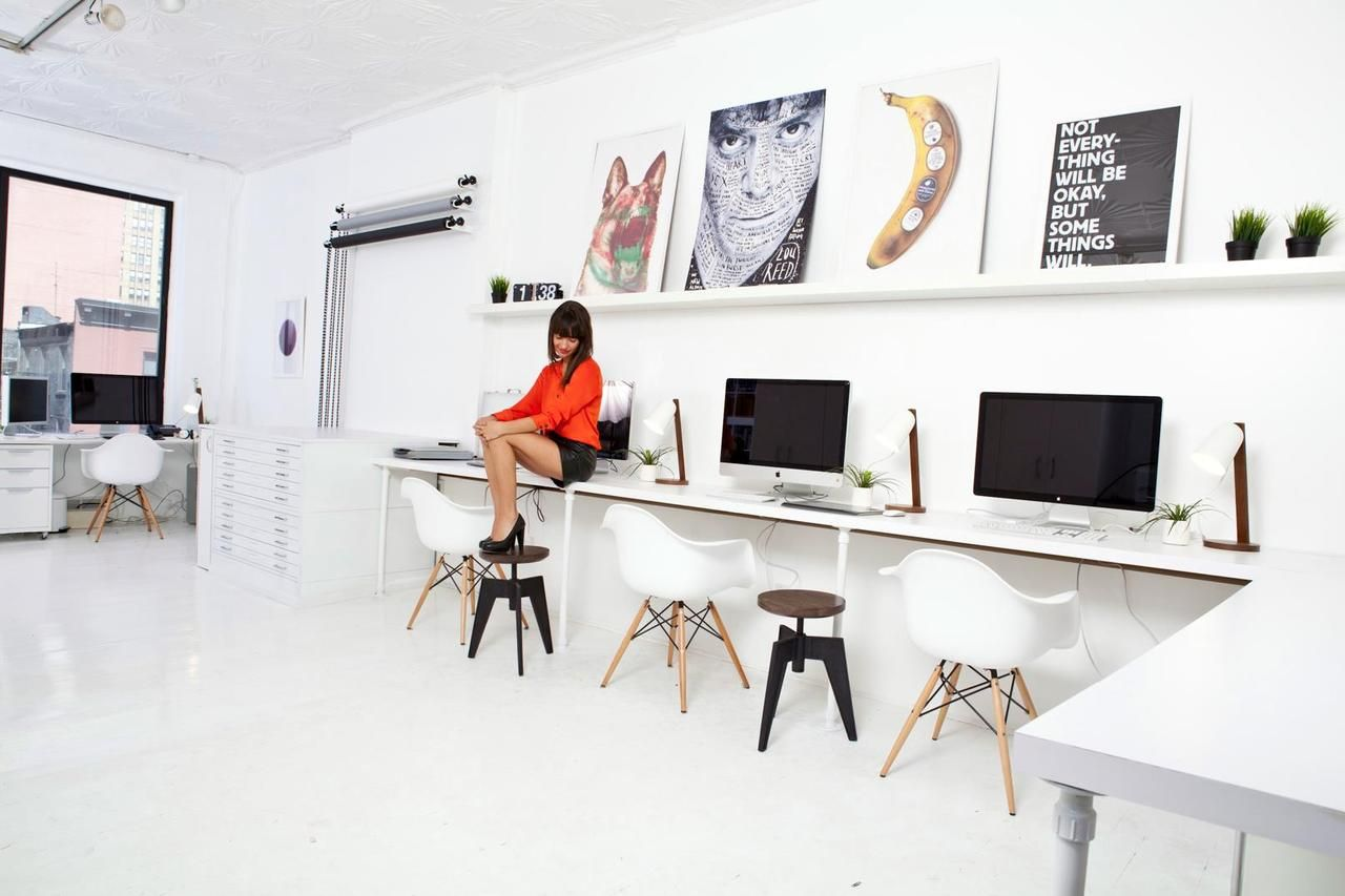 Long Desk Ideas Get Good Working Ambiance With These Computer Desks Cool