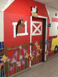 What a fun barn door for a farm theme classroom! | FARM ...