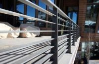 contemporary exterior metal handrail - Google Search ...