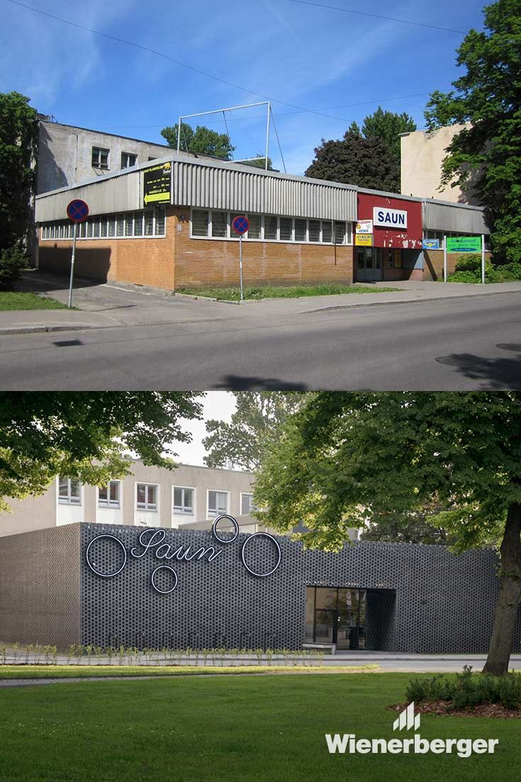 Millet M3d Before And After The Street Side Pavilion Building Was Enclosed