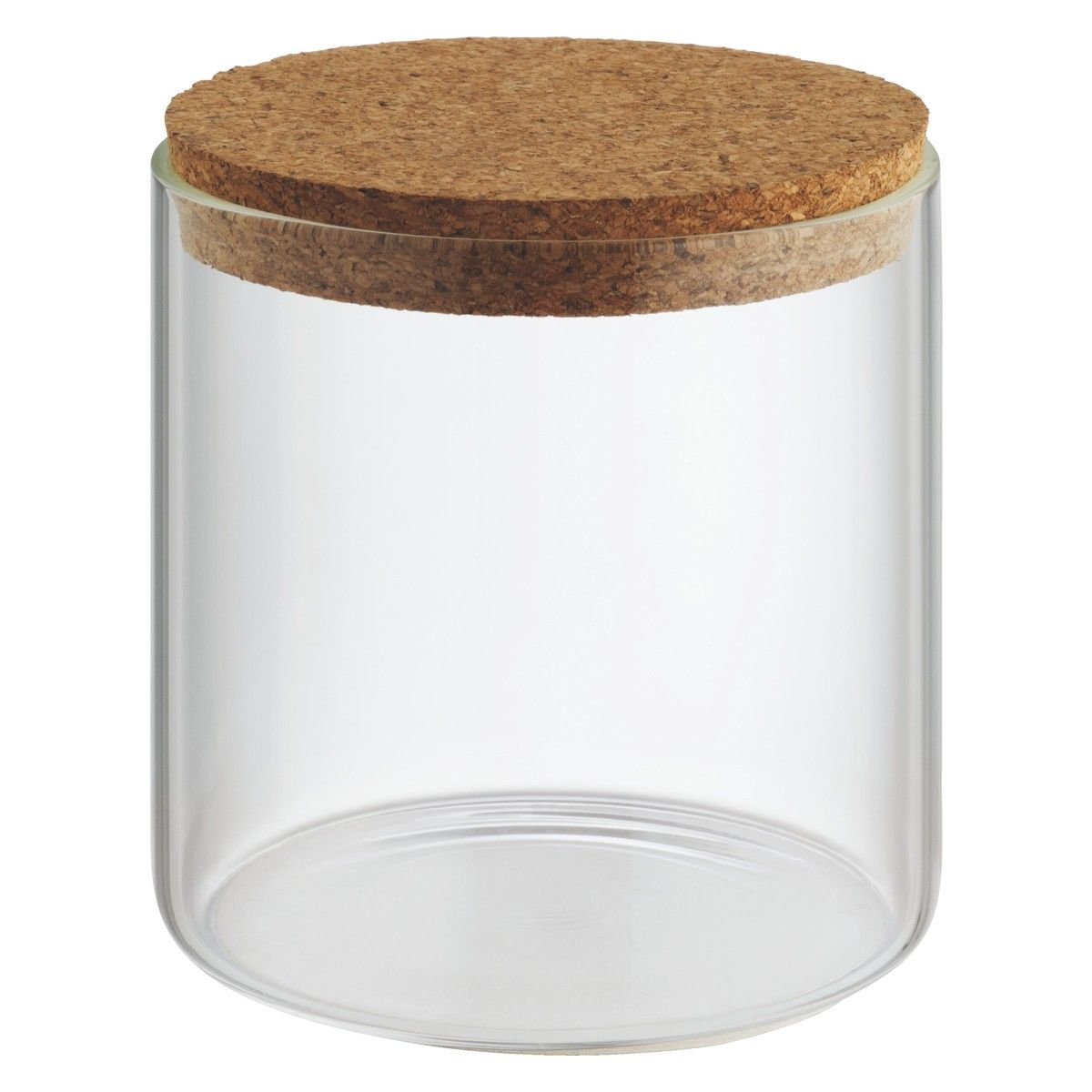 Cork Jar Jadon Small Glass Storage Jar With Cork Lid H12cm