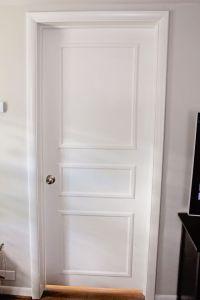 DIY Door Trim for Plain Doors | Door trims, Doors and House