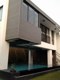 Anti UV waterproof WPC exterior decorative wall panel ...