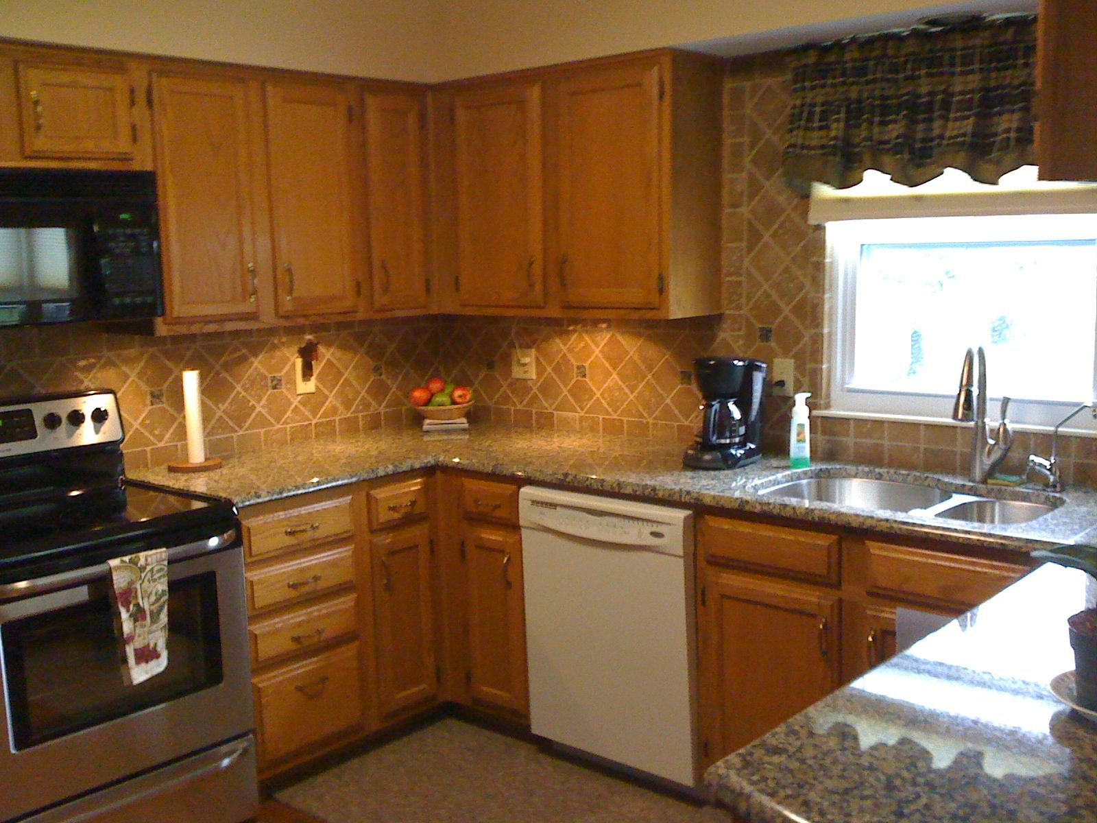 Kitchen Counter Backsplash Ideas Pictures Amarello Boreal Granite Countertop Pictures Yahoo Search