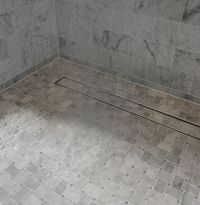 Can you find the LUXE Linear Shower Drain Tile Insert in ...