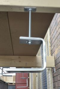 Ceiling Brackets used for suspending cable tray or basket ...