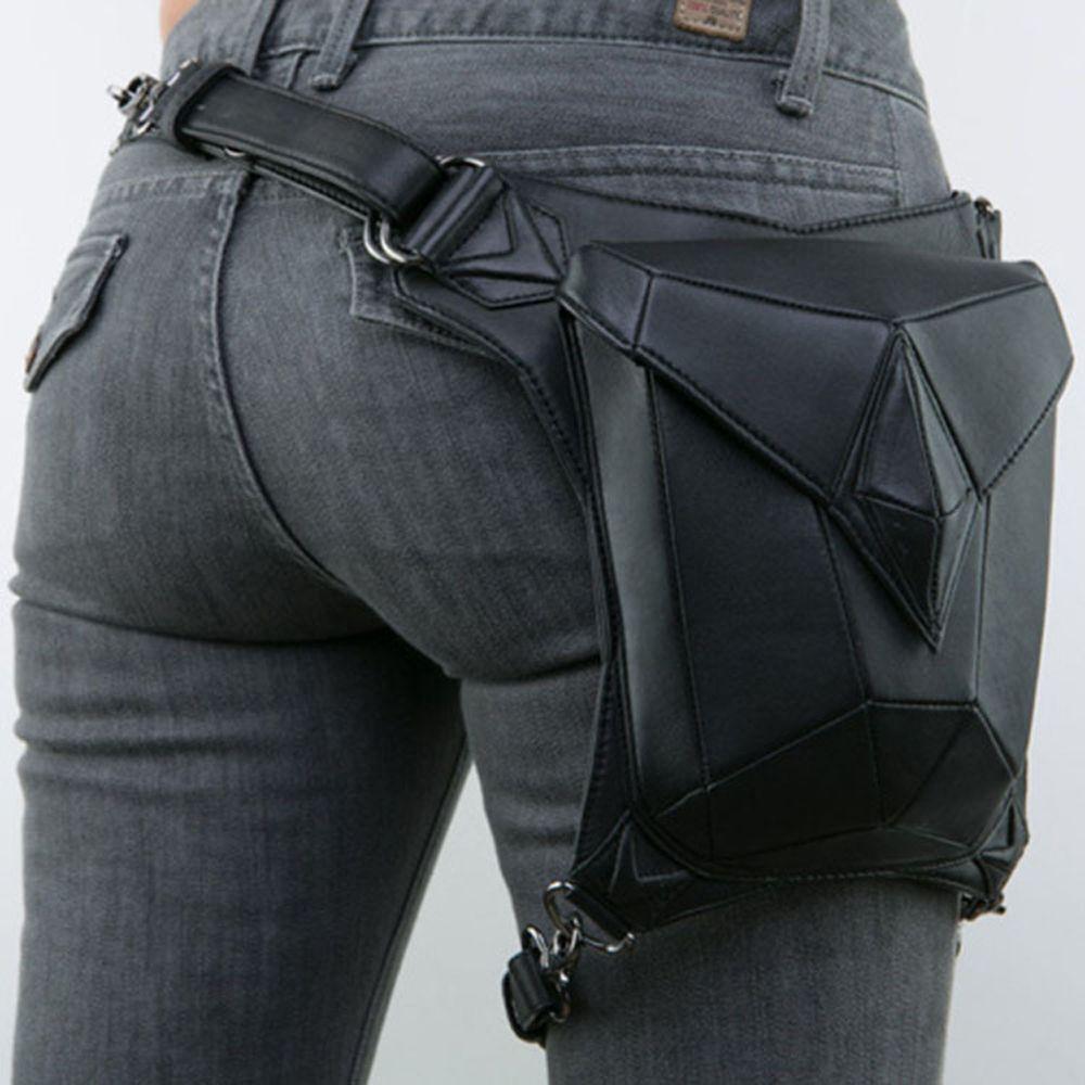 Women ladys motorcycle travel riding waist bag pack hip pocket new design fashion
