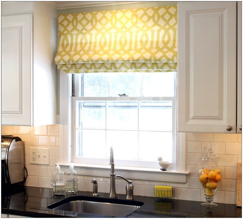 Image gallery of roman curtains kitchen