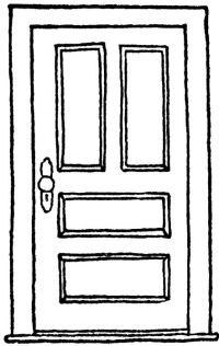 Door Drawing | Drawings | Pinterest | Drawings