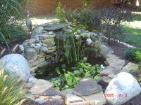 Small+Pond+Waterfall+Ideas | Small Pond | Backyard ponds ...