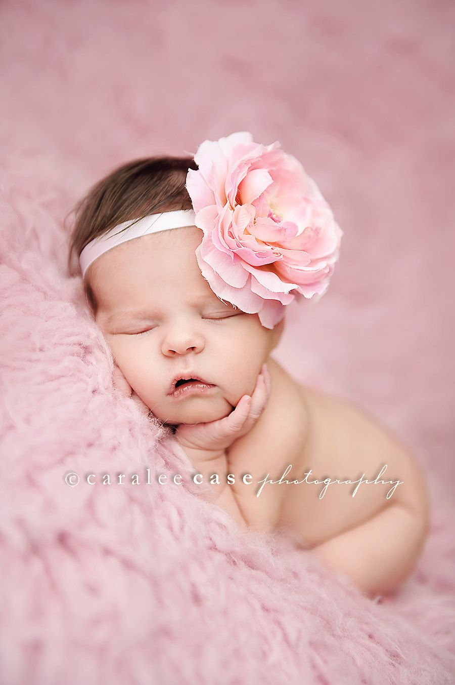 Baby headband baby girl flower headband newborn photography prop baby hair accessories