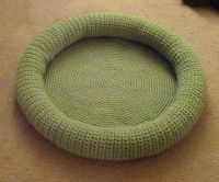 Pet Bed! Free Crochet Pattern. have fun..   Free Chihuahua ...