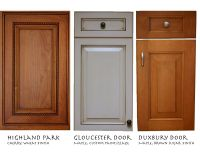 pine kitchen doors and drawer fronts - chest of drawers