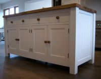 ikea free standing kitchen cabinets   Reclaimed Oak ...