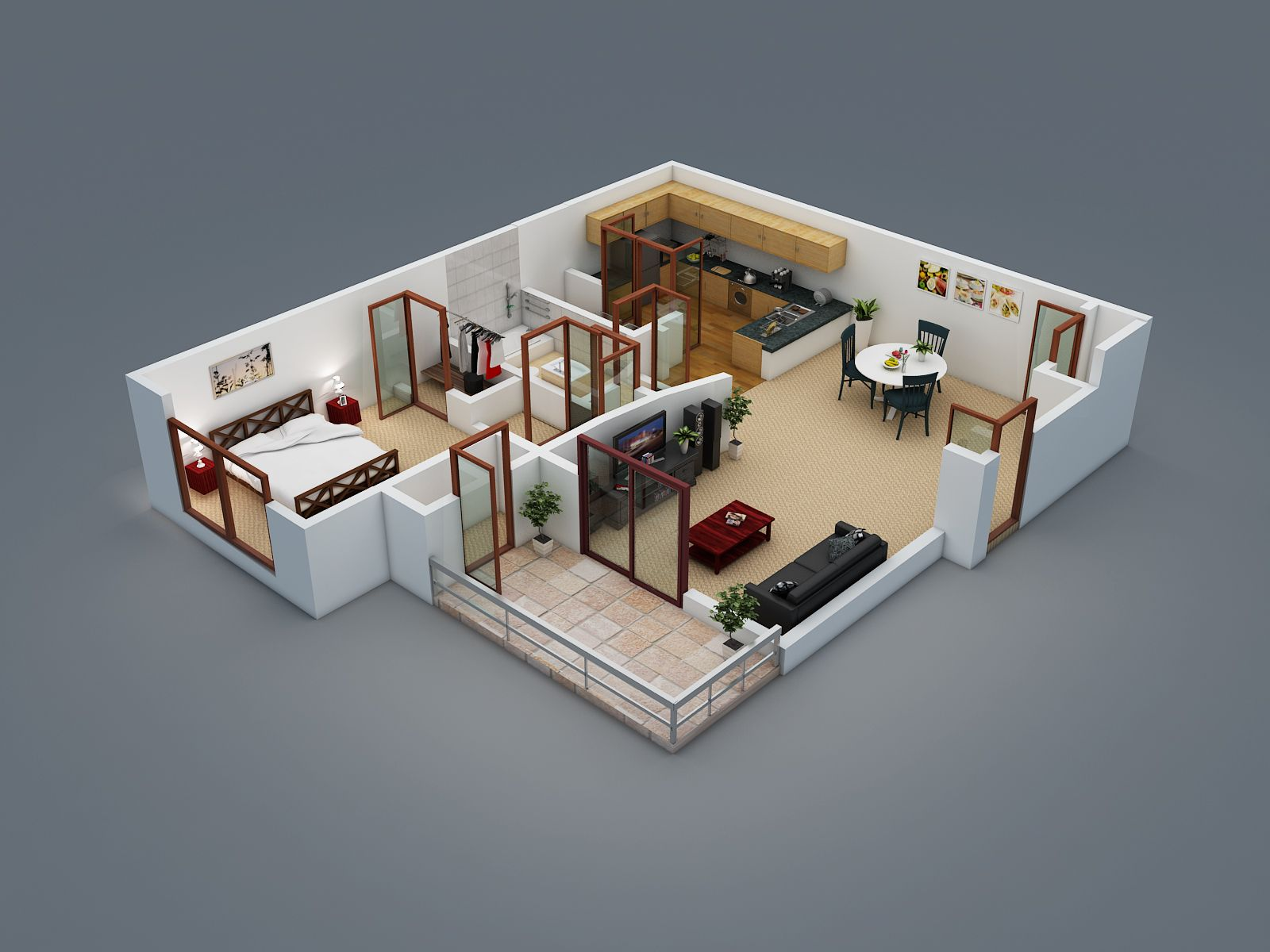 3d House Design Free 3d Floor Plans Wazo Communications Apa Pinterest