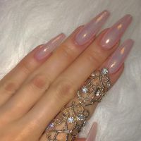 60 Simple Acrylic Coffin Nails Colors Designs | Coffin ...