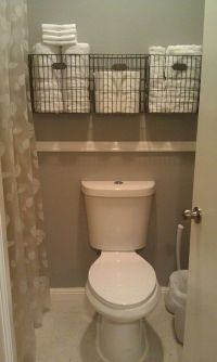 43 Over The Toilet Storage Ideas For Extra Space | Toilet ...
