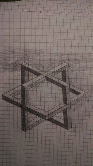 3D cube sketch on graph paper Surprisingly hard to draw my - 3d graph paper